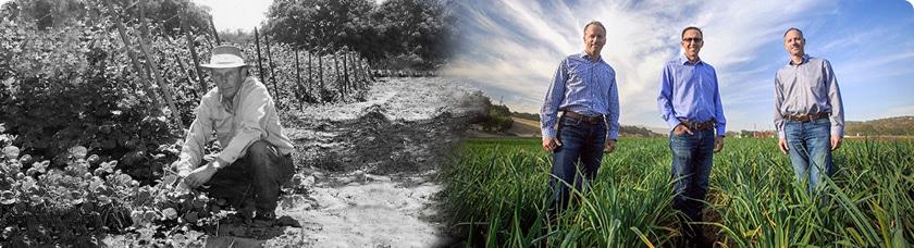 Family farming through the generations
